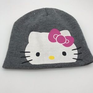 Hello kitty girls beanie